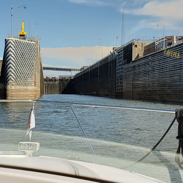 The Fulton Lock is a 65 footer.